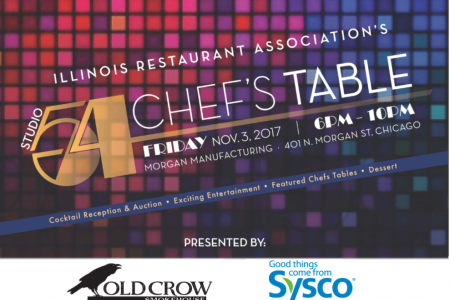 Illinois Restaurant Association Presents Chef's Table:  The 40th Annual Restauranteurs for Education Gala