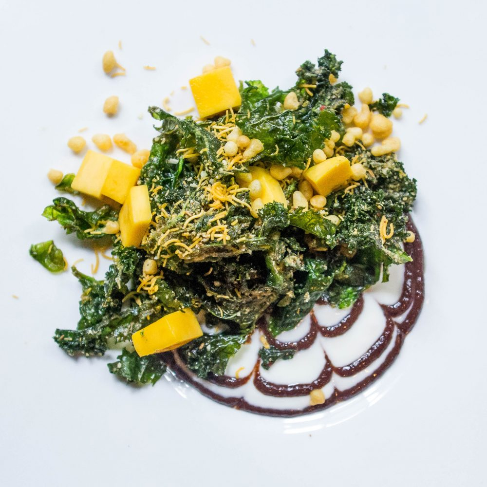 Crisp Kale Bhel