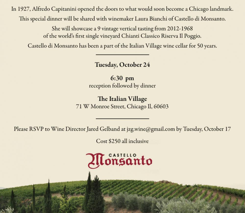 Monsanto Wine Dinner 2