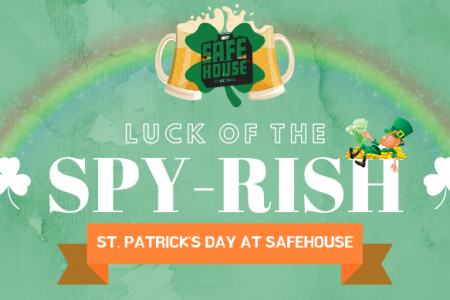 A Spy-Filled St. Patrick's Day in River North