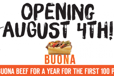 Buona Celebrates Grand Opening in St. Charles