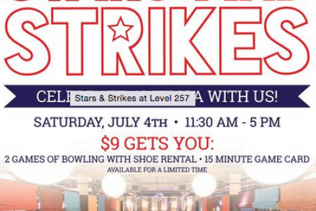 Stars and Strikes at Level 257