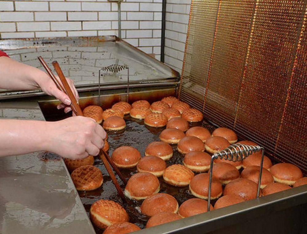 Paczki Frying